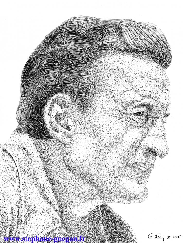 George C. Scott por GUEGAN